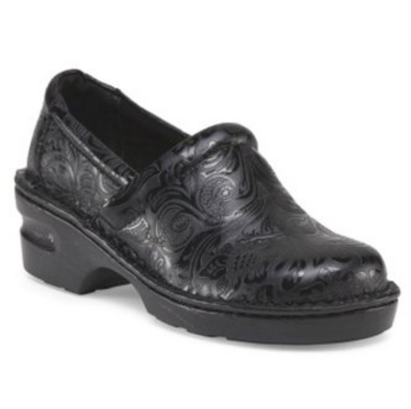 B.O.C. Born Floral Embossed Tooled Shoes